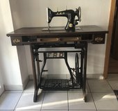 Antique sewing machine in Ramstein, Germany
