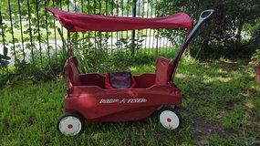 Red wagon, Radio Flyer in Bellaire, Texas