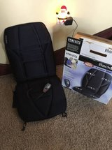HOMEDICS 5 Motor Seat Massager with Heat. AC home adapter & 12V Auto Adapter! See Photos in Glendale Heights, Illinois