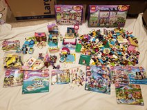 Lego friends and elves sets pieces manuals in Glendale Heights, Illinois
