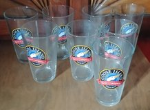 8 Goose Island beer glasses in Naperville, Illinois