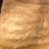 Full/Queen faux mink like blanket light brown in Fort Campbell, Kentucky