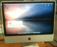 "Apple iMac 24"" aluminum 2009, Core 2 Duo, 8 GB RAM, MacOS X.11 ""El"" in Fort Lewis, Washington"