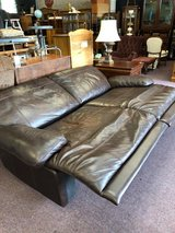 Reclining Leather Sofa Walter E Smithe in Batavia, Illinois