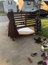 bed with box spring in Fort Campbell, Kentucky