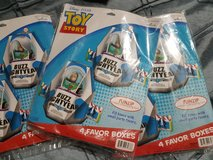 Buzz Lightyear party favor boxes in Beaufort, South Carolina