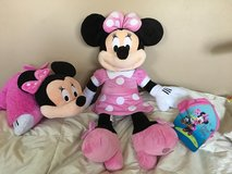 Minnie Mouse-Pillow Pet, Stuffed Animal, Hat in Glendale Heights, Illinois