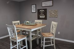 Beautiful Bar Height Table Set (5 Pc) in Houston, Texas