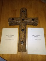 Lenten Cross Candle Holder in Naperville, Illinois