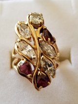 Ladies Diamond  and Ruby Ring in Cherry Point, North Carolina
