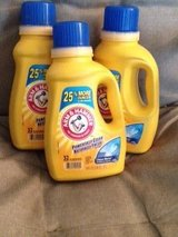 1 Lot of 3 Arm and Hammer Laundry Detergents - Brand New in Fort Belvoir, Virginia