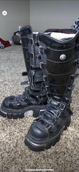New Rock Gothic Boots in Camp Pendleton, California