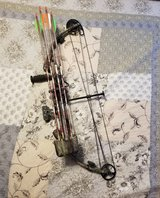 Buckmaster pro Jackie Bushman bow in Fort Leonard Wood, Missouri