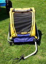 Burley Encore Bike Trailer- seats 2 kids in St. Charles, Illinois