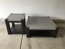 Contemporary coffee table and end table in Naperville, Illinois