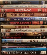 DVD assortment in The Woodlands, Texas