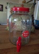 NEW- Glass Mason  Jar Beverage Dispenser in Camp Lejeune, North Carolina