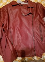 Women's  Faux Leather  Jacket-NEW in Camp Lejeune, North Carolina