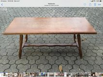 small table in Ramstein, Germany