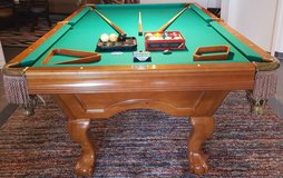 Brunswick Greenbriar II Pool Billiards Table in Stuttgart, GE