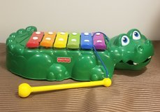 Fisher Price 2-in-1 Crocodile Xylophone in Naperville, Illinois