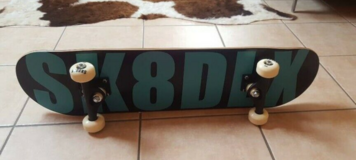 Original skateboard from the brand SK8DLX-New - RARE! in Spangdahlem, Germany