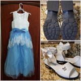 Girls Dress and shoes - NEW in Joliet, Illinois