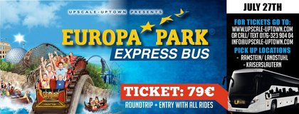Europa Park Express Bus in Ramstein, Germany