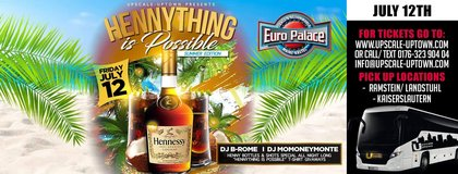 Hennything Is Possible Party Bus in Ramstein, Germany