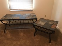 cast iron frame with ceramic tile tops in Camp Lejeune, North Carolina