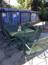 patio table/6chairs in Travis AFB, California