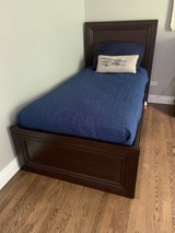 Boys twin wood bed in St. Charles, Illinois