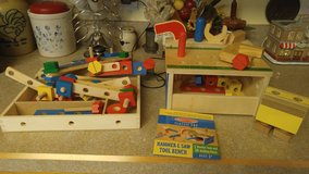 Melissa and Doug Tool Bench Set with extras in Cherry Point, North Carolina