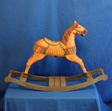 VINTAGE ROCKING HORSE LARGE 2ft. tall in Fairfield, California