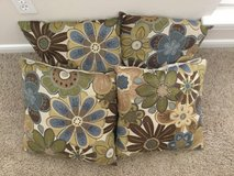 Floral Set of 4 cushions in Kingwood, Texas