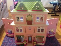 Fisher Price Doll House (Like New) in Spangdahlem, Germany