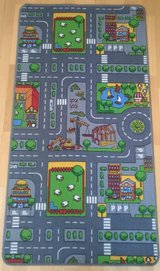 City road rug for kids in Ramstein, Germany