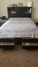 Platform Queen Bed as is! in Beaufort, South Carolina