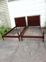 Two Twin Antique/Vintage Cherry John Widdicomb Beds in Chicago, Illinois