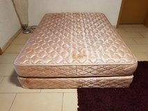 Queen Size Mattress with Box Spring in Ramstein, Germany