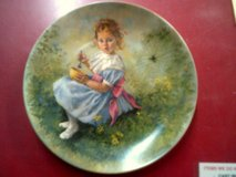 Little Miss Muffet, collector plate in Alamogordo, New Mexico