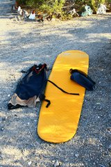 Therm-a-Rest ProLite Sleeping Pad with stuff sack and Trekker chair conversion kit in 29 Palms, California