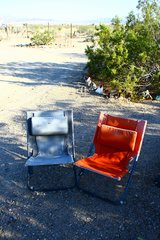 REI folding camp chairs: in 29 Palms, California