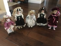 Dolls in Travis AFB, California