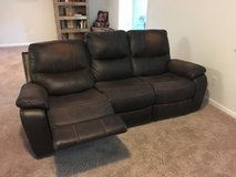 Leather Dual Recliner Couch from Havertys in Beaufort, South Carolina