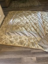 CROSCILL Complete queen bed set and accessories in Kingwood, Texas