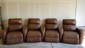 Home Theater Chairs/Couch in Batavia, Illinois