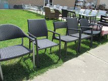 A Plethora of Outdoor Chairs in Westmont, Illinois