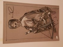 Autographed Norman Reedus The Walking Dead drawing in The Woodlands, Texas