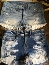 American eagle stretch shorts in Okinawa, Japan